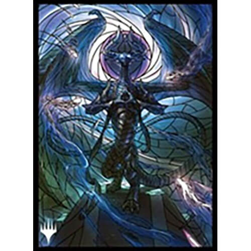 Mtg War Of The Spark Stained Glass Nicol Bolas Mtgs 112 Card Sleeves
